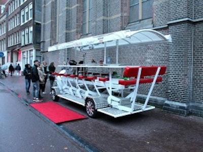 LimoBike VIP Beer Bike in Amsterdam