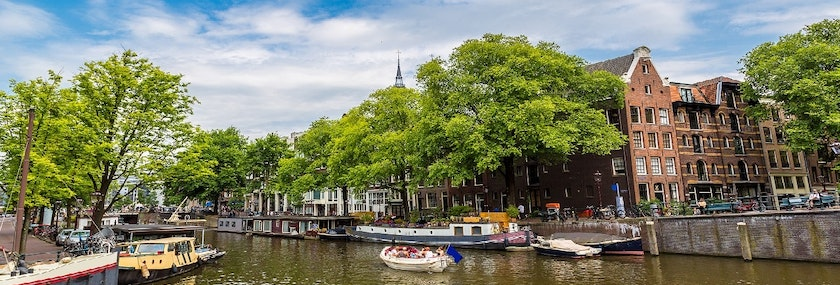 Canal Boat Cruise in Amsterdam Stag Do