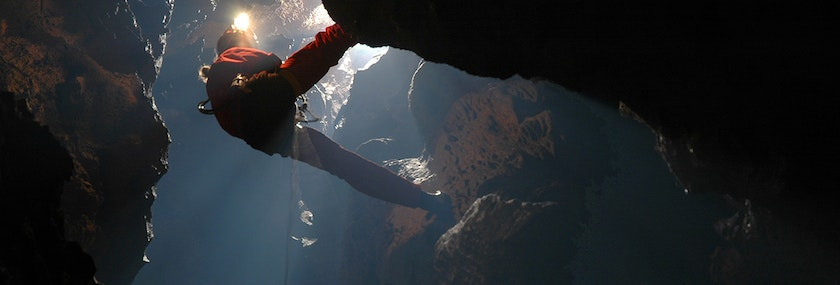 Caving in Snowdonia Stag Do