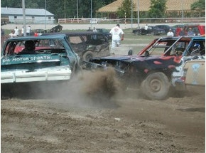 Demolition Derby Experience in Tallinn