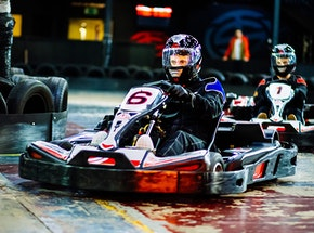 Indoor go karting stag weekends