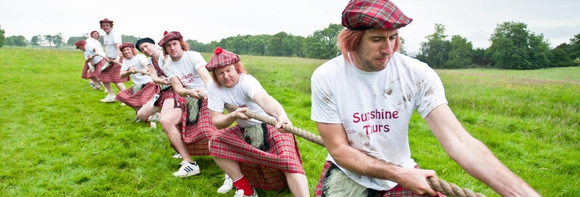 Highland Games Stag Do