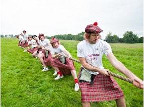 Mini Highland Games Experience in Edinburgh