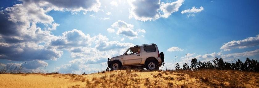 Jeep Safari in Benidorm Stag Do