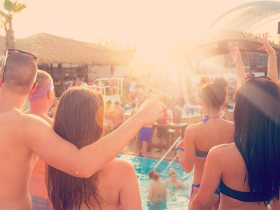 Pool Party in Riga
