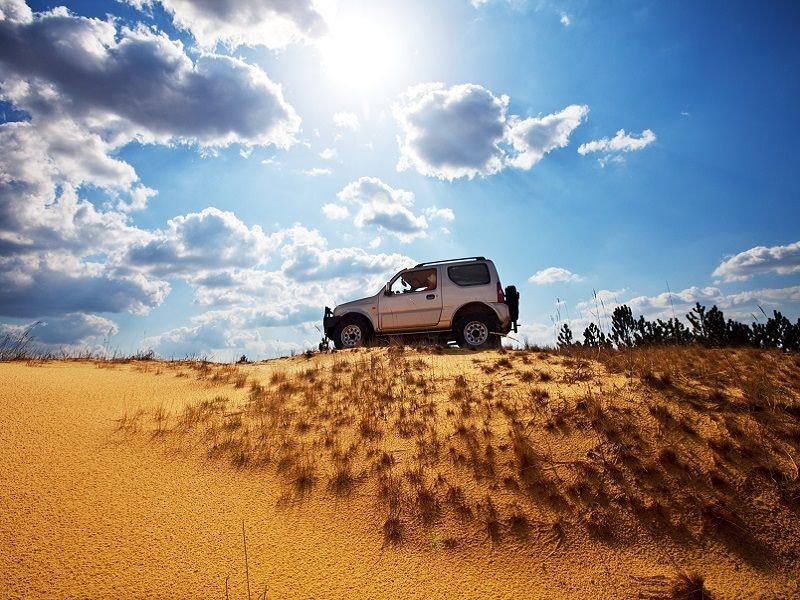 stag weekend jeep safari