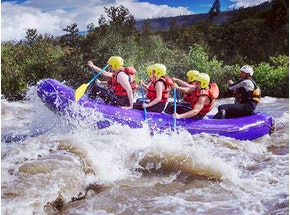 Whitewater Rafting Experience in Edinburgh