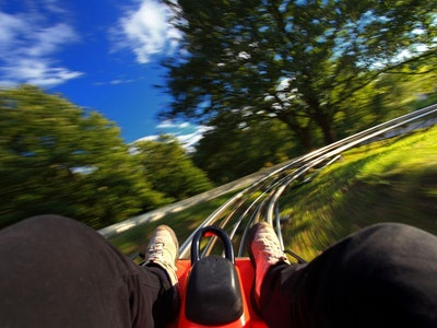 Tobogganing Experience - 10 Slides in Budapest