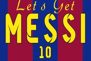 Lets Get Messi Stag party